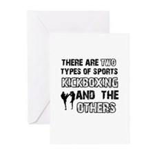 Kickboxing designs Greeting Cards (Pk of 20)