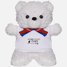 Lawnbowling lover designs Teddy Bear