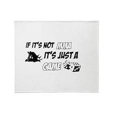 MMa lover designs Throw Blanket