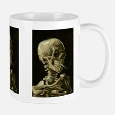 Skull With Cigarette Mug
