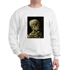 Skull With Cigarette Sweatshirt