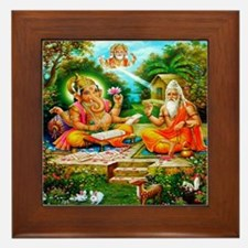 Ganesh Framed Tile
