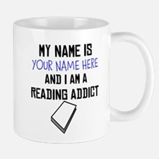 Custom Reading Addict Mug