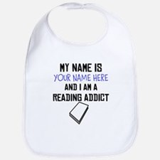 Custom Reading Addict Bib