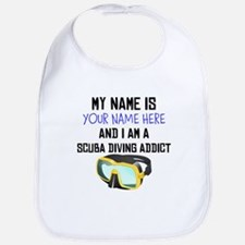 Custom Scuba Diving Addict Bib