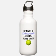 Custom Tennis Addict Water Bottle