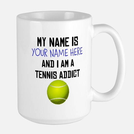 Custom Tennis Addict Mug