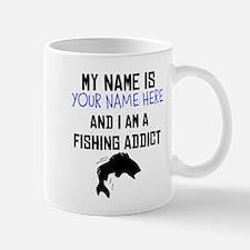 Custom Fishing Addict Mug