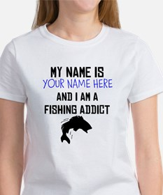 Custom Fishing Addict T-Shirt