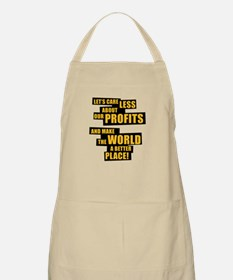 Let's care less about our profits and ... Apron