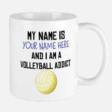 Custom Volleyball Addict Mug