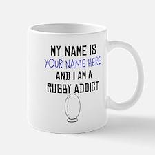 Custom Rugby Addict Mug
