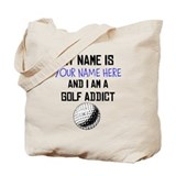 Funny golf Canvas Totes