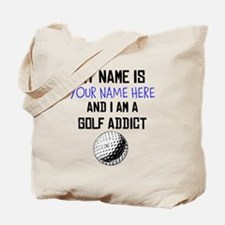 Custom Golf Addict Tote Bag