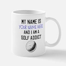 Custom Golf Addict Mug