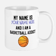 Custom Basketball Addict Mug