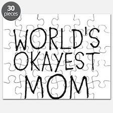 WORLDS OKAYEST MOM Puzzle