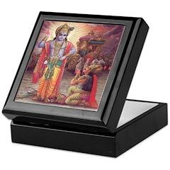 Krishna 4 Keepsake Box