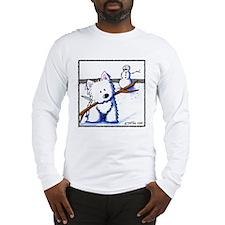 Westie One-Arm Bandit Long Sleeve T-Shirt