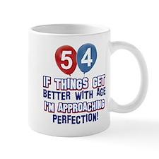 54 year Old Birthday Designs Mug