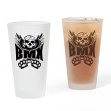 BMX Brass Knuckles Drinking Glass