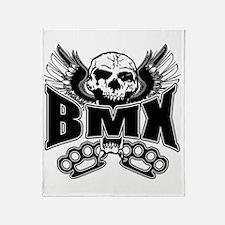 BMX Brass Knuckles Throw Blanket