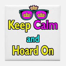 Crown Sunglasses Keep Calm And Hoard On Tile Coast