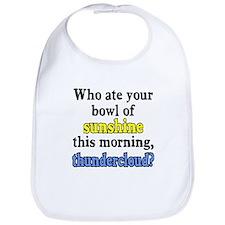 Who ate your bowl sunshine Bib