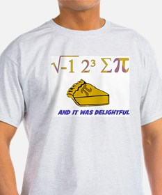 i ate sum pi t-shirt and it was delightful! T-Shir