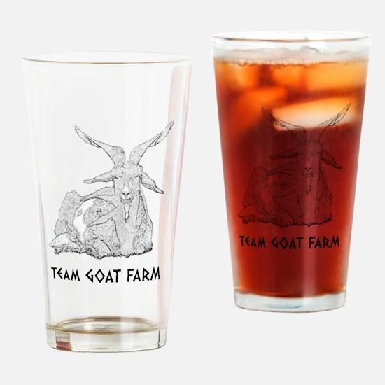 Nagron Fandom: Team Goat Farm Drinking Glass