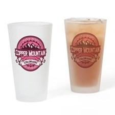 Copper Mountain Honeysuckle Drinking Glass