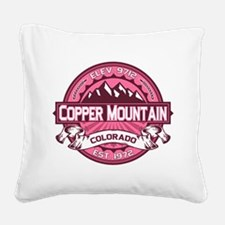 Copper Mountain Honeysuckle Square Canvas Pillow