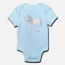 White Unicorn 1 Infant Bodysuit
