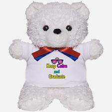 Crown Sunglasses Keep Calm And Graduate Teddy Bear