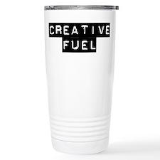 Coffee is creative fuel Travel Mug