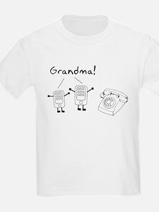 Rotary Cell Phone Grandma T-Shirt