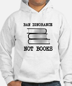 Ban ignorance not books Jumper Hoody