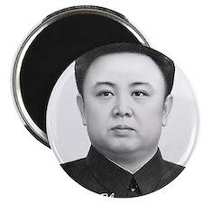 "Kim Jong Il 2.25"" Magnet (10 pack)"