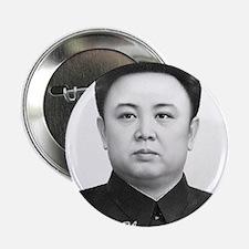 """Kim Jong Il 2.25"""" Button"""
