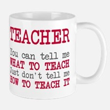 Teacher How To Teach It Mug