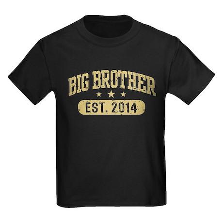 Big Brother Est. 2014 Kids Dark T-Shirt