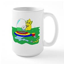 Washing your space saucer Mug