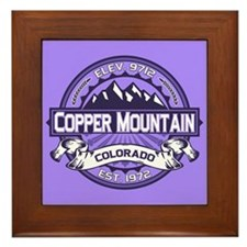 Copper Mountain Purple Framed Tile