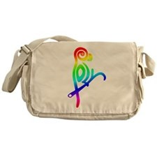 Polly the Poly Parrot Messenger Bag