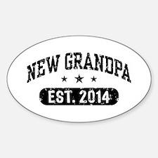 New Grandpa Est. 2014 Decal