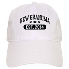 New Grandma Est. 2014 Baseball Baseball Cap