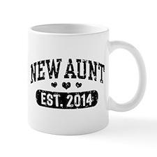 New Aunt Est. 2014 Mug
