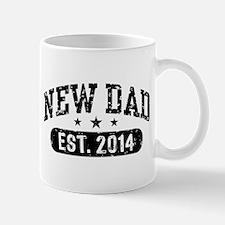 New Dad Est. 2014 Mug