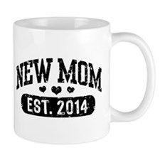 New Mom Est. 2014 Mug