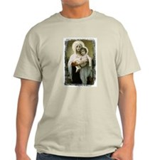 Madonna Of The Roses Ash Grey T-Shirt